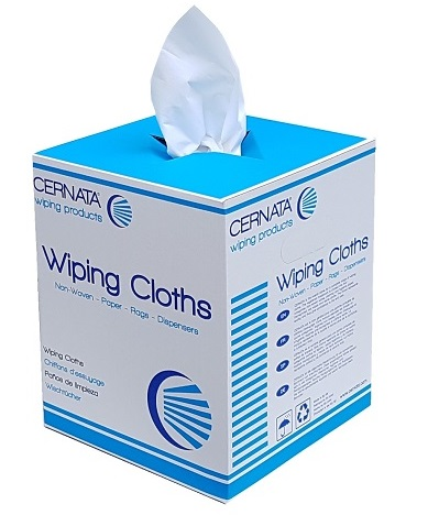 CERNATA Dry Solvent Wipes Perforated Roll 350 Sheet 38x30cm